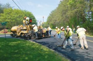 Sharpe Performing Asphalt Resurfacing on Guilford Roads, Making Good Progress on US-220 Road Construction Project