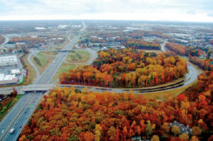 Sharpe Builds Section of Bridford Parkway