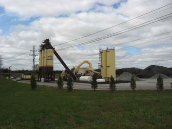 Sharpe Bros. has added a third silo at plant #2 to keep up with its airport work