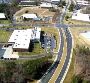 Crews finished six months early on a Piedmont Parkway extension project in High Point, NC.