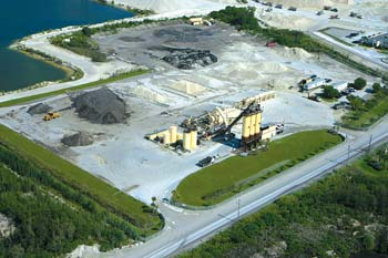 "Ranger Construction — South operates asphalt plants in Pompano Beach and Miami, FL (above). Both received ""Green Diamonds."""