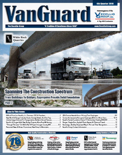 VanGuard 4th Quarter 2016, published by Vecellio Group, Inc.